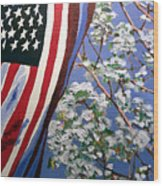 American Spring Wood Print