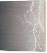 American Storm Wood Print