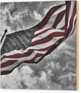 American Wave Sc Wood Print