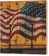 American Workhorse Wood Print