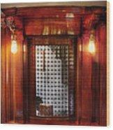 Americana - Movies - Ticket Counter Wood Print