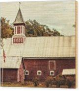 Americana Barn Wood Print