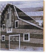 Americana Glory Wood Print