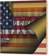 Americas New Design 2009 Wood Print