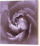 Amethyst Wood Print