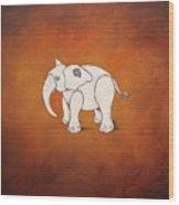 Amnimal Elephant Wood Print