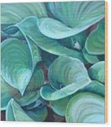 Among The Leaves Wood Print
