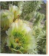 Among The Thorns 3 Wood Print