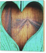 Amor ... Wood Print