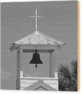 Amory Memorial Chapel Boca Grande Fl Wood Print