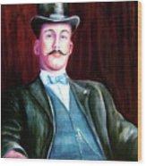 Amos Mckay Wood Print