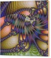 Amphipod Wood Print