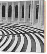 Amphitheatre Washington Wood Print