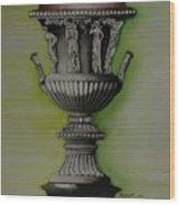 Amphora Wood Print
