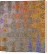 Amplitude Wood Print