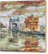 Amritsar Palace Wood Print