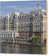 Amstel Amsterdam Hotel Wood Print