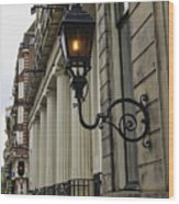 Amsterdam Carriage Light Wood Print