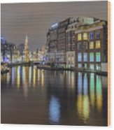 Amsterdam Colors Wood Print