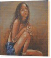 Amsterdam Girl Wood Print