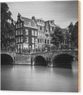 Amsterdam, Leliegracht Wood Print