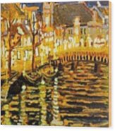 Amsterdam Netherlands  Wood Print