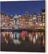 Amsterdamn Wood Print