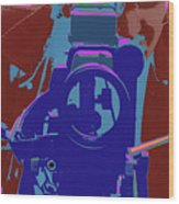 Amt Selfie 1987 Wood Print
