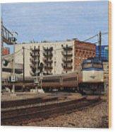 Amtrak 90413 Wood Print