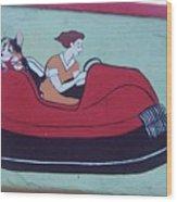 Amusement Art Asbury Park Nj Wood Print