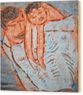 Amuweese - Tile Wood Print