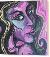 Amy Amy Amy Wood Print