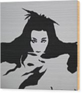 Amy Lee Reflection Wood Print