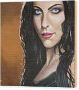 Amy Lee Wood Print