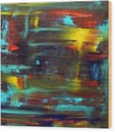 An Abstract Thought Wood Print