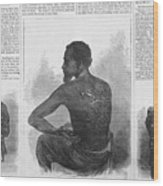 An African American Runaway Slave Named Wood Print by Everett