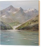 An Alaskan View Wood Print