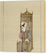 An Album Of Ottoman Court Drawings Wood Print