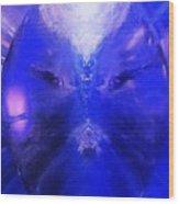 An Alien Visage  Wood Print