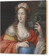 An Allegory Of Intelligence Wood Print