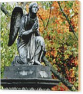 An Angels' Prayer Wood Print