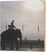 An Elephant At The Royal Palace Wood Print