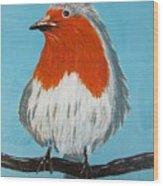 An English Robin Wood Print