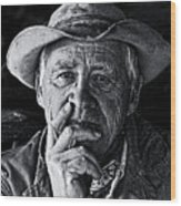 An Honest Man Wood Print