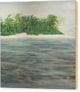 An Island All To Myself 1 Wood Print