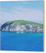 An Island In Ireland Wood Print