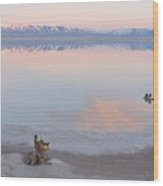 An Island Sunset 2 Wood Print