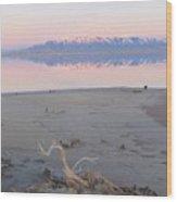 An Island Sunset Wood Print