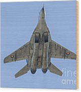 An Mig-29as Fulcrum Of The Slovak Air Wood Print