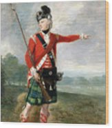 An Officer Of The Light Company Of The 73rd Highlanders Wood Print